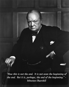 Winston Churchill - Beginning Quote - Logicrats Blog